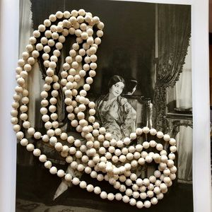Vintage Howlite beads from the Orient 😘❤️